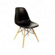 Krzesło King Home Eames DSW czarne