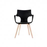 Krzesło King Home Wings czarne