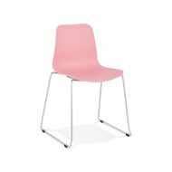 Krzesło Kokoon Design Bee różowe