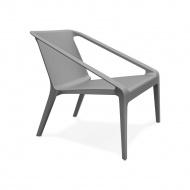 Krzesło Kokoon Design Soleado Ciemnoszare