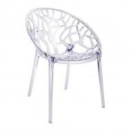 Krzesło Koral King Home transparentne