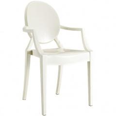 Krzesło Louis Victoria Ghost Royal białe