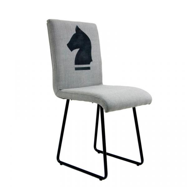 Krzesło na płozach Gie El czarny FST0200