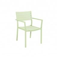 Krzesło obiadowe 57x59x52 cm Miloo Home Collins pistacjowe