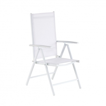 Krzesło Ogrodowe Białe Meble Ogrodowe Aluminium Bassedas