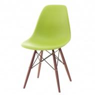 Krzesło P016W PP zielone/dark