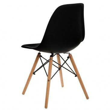 Krzesło Simplet P016W basic czarne