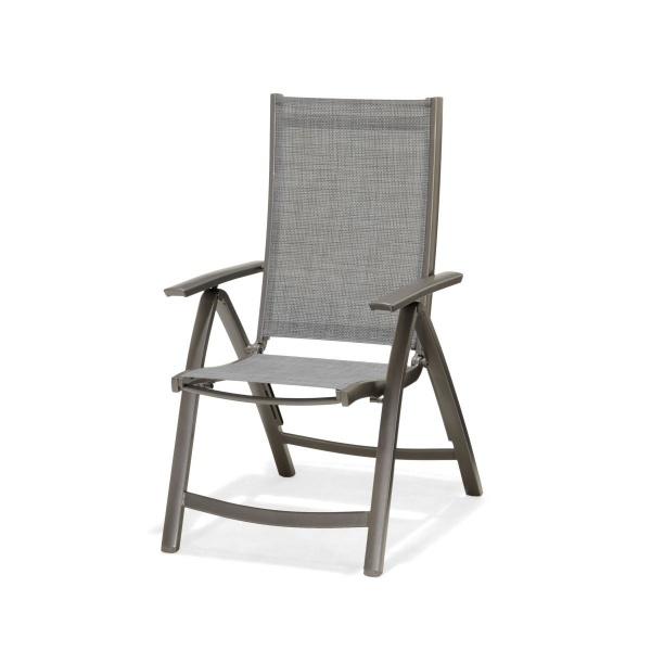 Krzesło składane z podłokietnikami D2 Solana 5705820283835