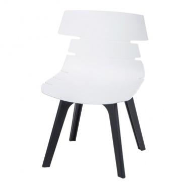 Krzesło Techno STD PP D2 białe 5902385729031