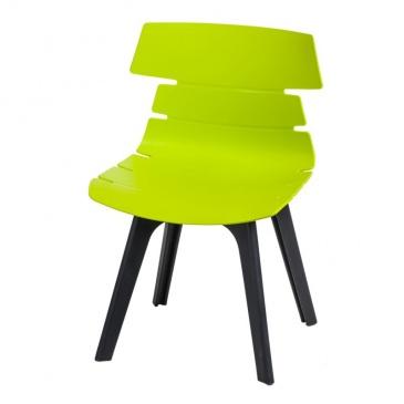 Krzesło Techno STD PP D2 zielone 5902385729024