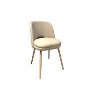 Krzesło Tori Miloo Home beżowe