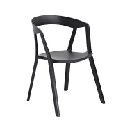 Krzesło Vibia King Home czarne