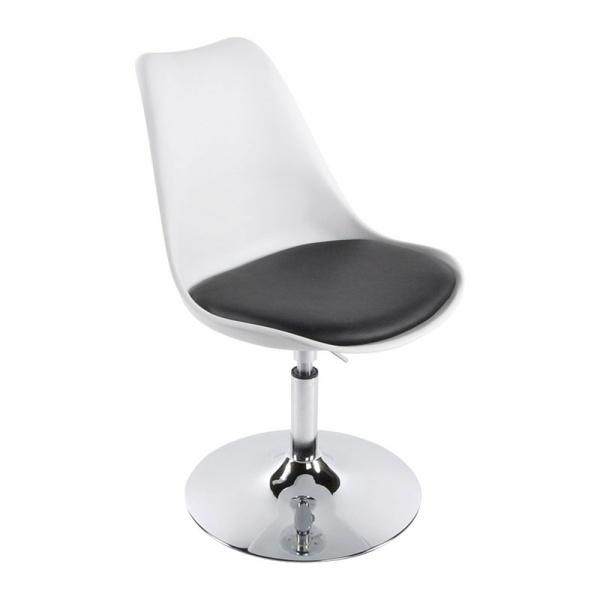 Krzesło Victoria III Kokoon Design biało-czarny CH00230WHBL