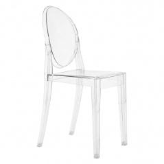 Krzesło Victoria transparentne