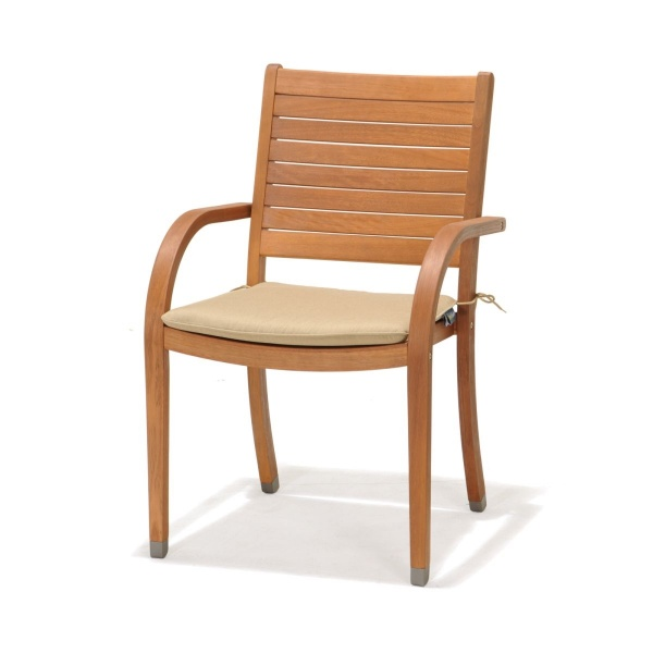 Krzesło z podłokietnikami z poduszką D2 Catalina 2200000038005