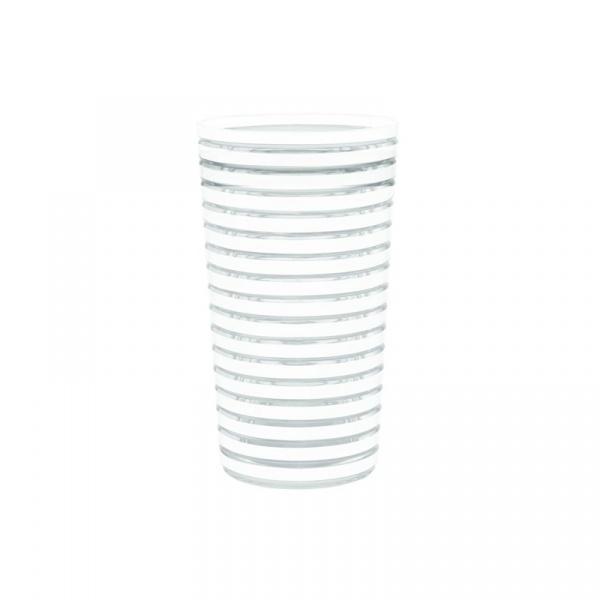 Kubek 360 ml Zak! Designs Swirl biały 1358-1403
