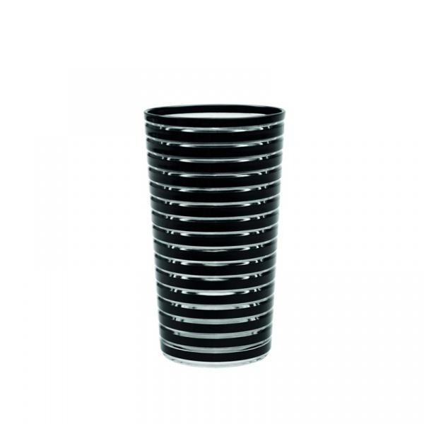 Kubek 360 ml Zak! Designs Swirl czarny 0439-1405