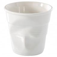 """Kubek """"gnieciony"""" do cappuccino 0,18 l Revol Froisses biały"""