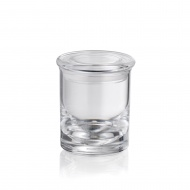 Kubek łazienkowy 7,5 cm Kela Leticia przezroczysty