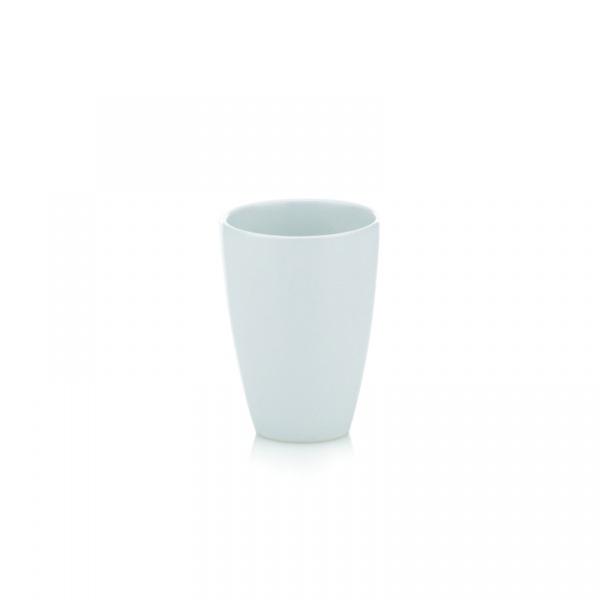 Kubek łazienkowy Kela Lima biały KE-18891