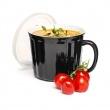 Kubek na zupę z pokrywką 0,5 l Sagaform Soup czarny SF-5017306