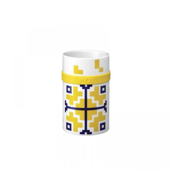 Kubek porcelanowy 250 ml PO: Folkloric żółty P14684