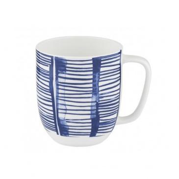 Kubek porcelanowy 380 ml Nuova R2S Indigo niebieski