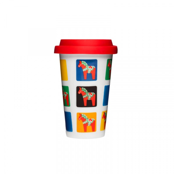 Kubek termiczny 0,25 l Sagaform Cafe konie SF-5016401