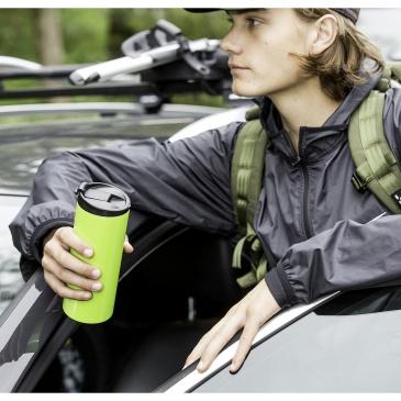 Kubek termiczny 0,35 l Sagaform Cafe zielony stalowyKubek termiczny 0,35 l Sagaform Cafe zielony stalowy
