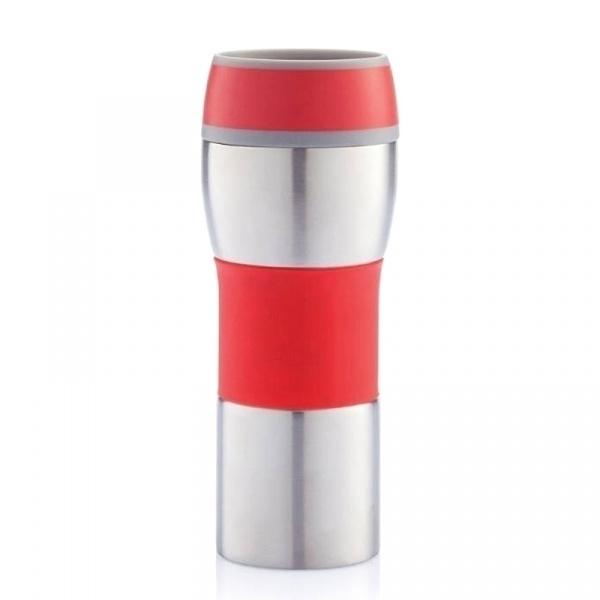 Kubek termiczny 0,4 l XDDesign Push czerwony XD-P432.394