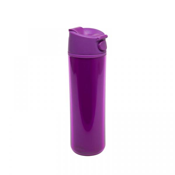 Kubek termiczny 0,47 l Aladdin Flip & Sip fioletowy AL-10-01502-013