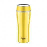 Kubek termiczny 0,4l Lamart żółty