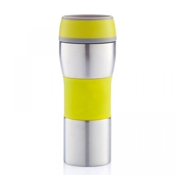 Kubek termiczny 400 ml XDDesign Push limonkowy XD-P432.397