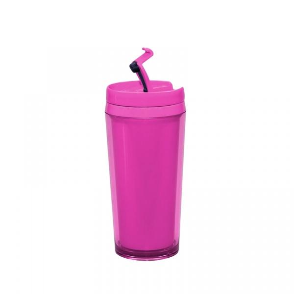 Kubek termiczny 450 ml Zak!  Pop! różowy 0896-8090E