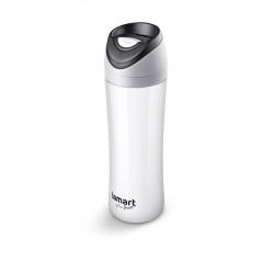 Kubek termiczny 450ml Lamart Esprit szaro-biały