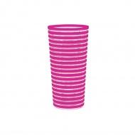 Kubek turystyczny 600 ml Zak! Designs Swirl różowy