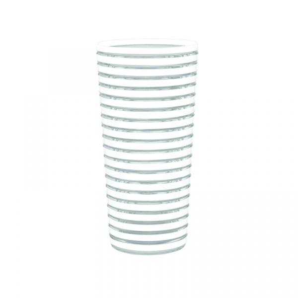 Kubek wysoki 600 ml Zak! Designs Swirl biały 1358-0071