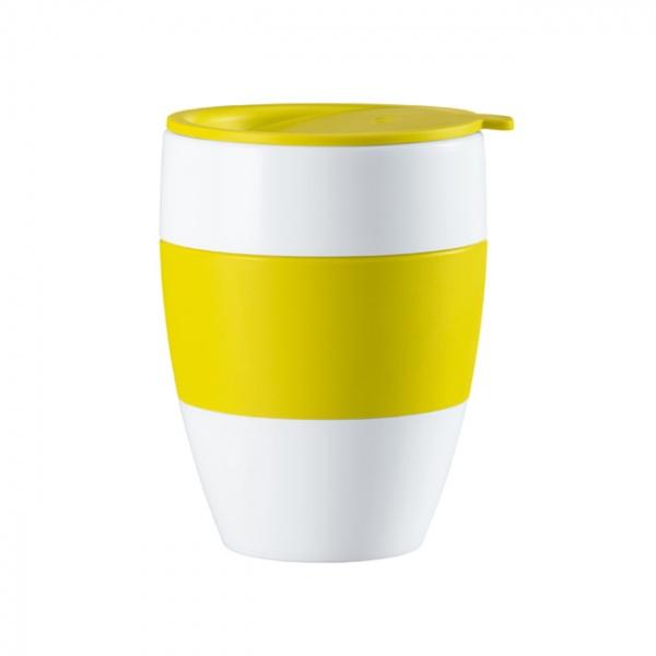 Kubek z przykrywką limonkowy Koziol AROMA TO GO KZ-3569582