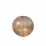 Kula świetlna Octagon 20cm Miloo Home Wabi Sabi srebrna