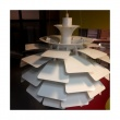 Lampa 48 cm King Bath Artichoke biała JX004D-48