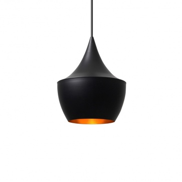 Lampa Bet Shade Fat King Bath czarna