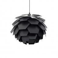 Lampa czarna - sufitowa - żyrandol - lampa wisząca -Provenzano mała
