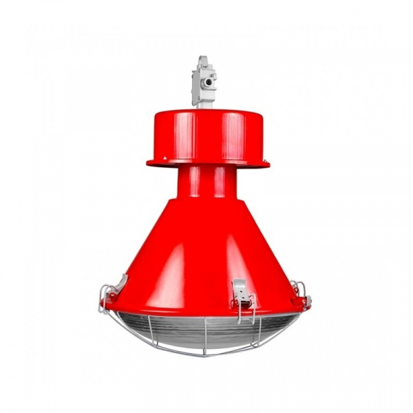 Lampa D2 Kwoka połysk czerwona 5905279097056