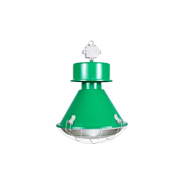 Lampa D2 Kwoka połysk zielony DK-64832