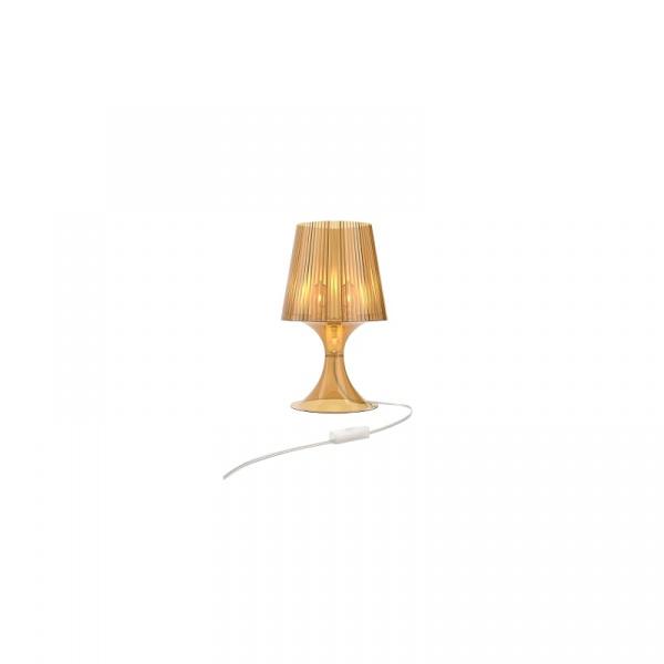 Lampa D2 Smart bursztynowy transparent DK-62026