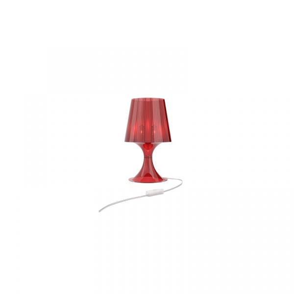 Lampa D2 Smart czerwony transparent 2200000023049