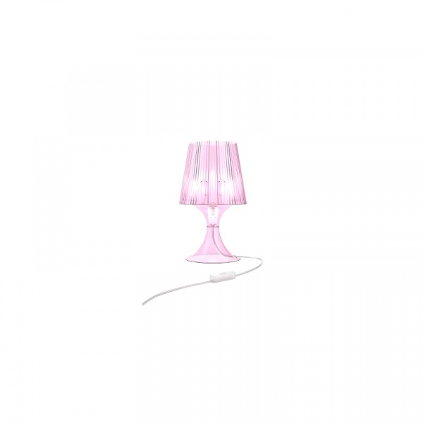Lampa D2 Smart różowy transparent 2200000023018