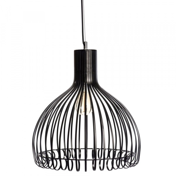 Lampa D2 wisząca Grazia czarna DK-62660