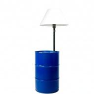 Lampa podłogowa Gie El granatowy