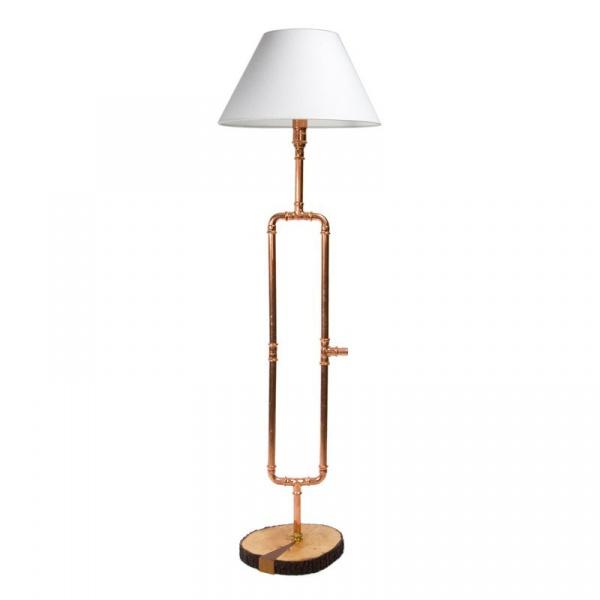 Lampa podłogowa Gie El miedź  LGH0010